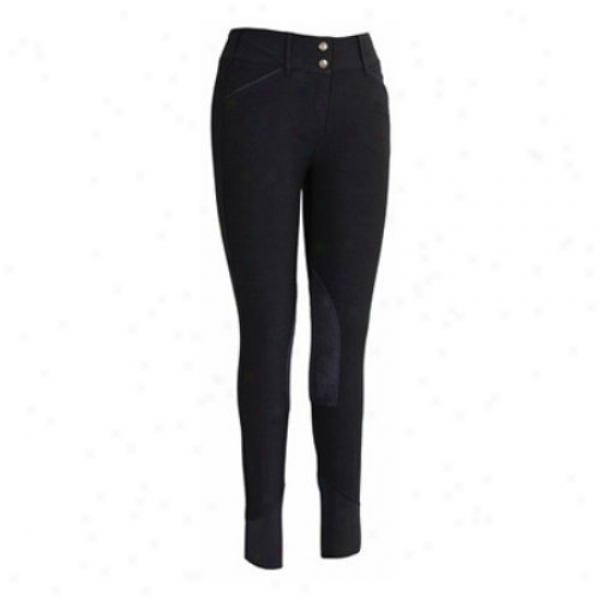 Tuffrider Ladies Modal Knee Patch Breeches