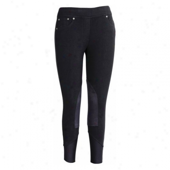 Tuffrider Ladies Newbury Pull On Jeans
