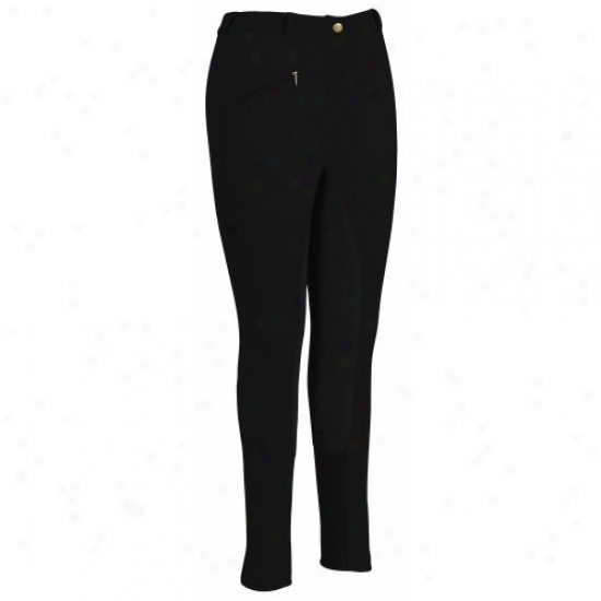 Tuffrider Ladies Ribb Full Seat Regular Breeches