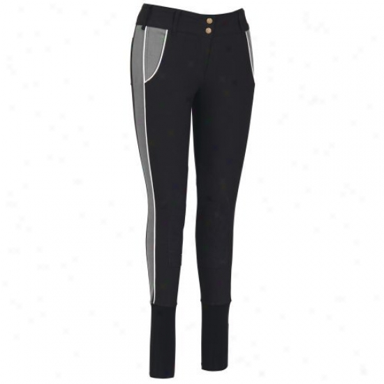 Tuffrider Ladies Sport Knee Patch Breeches