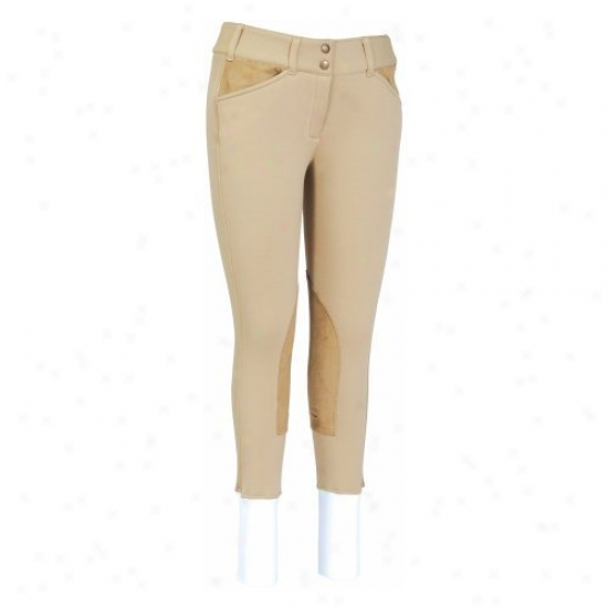 Tuffrider Ladies Unifleece Front Zip Breeches