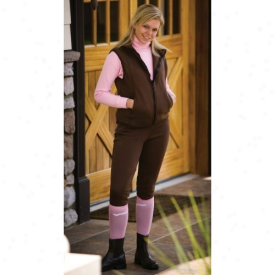 Tuffrider Ladies Unifleece Pull On Winter Breeches