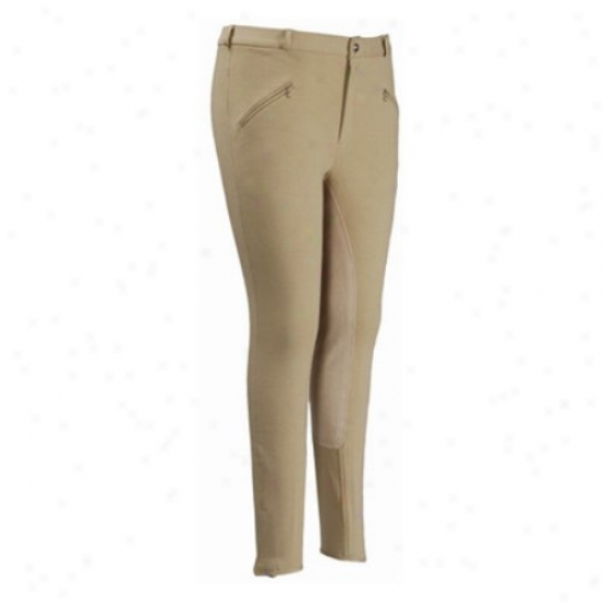 Tuffrider Mens Corton Satiated Saet A ~ time Breeches