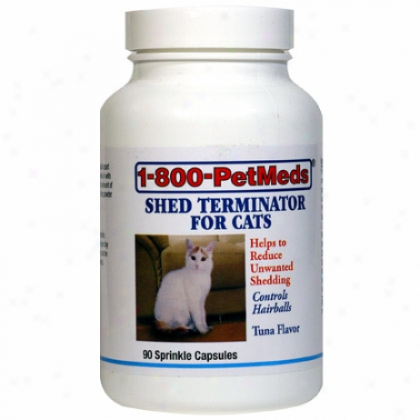 1-800-petmeds Shed Terminator For Cats 360ct