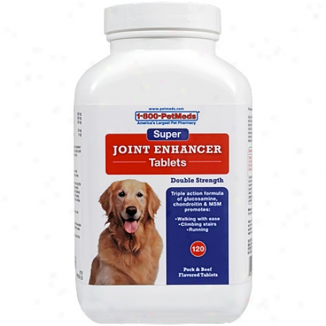 1-800-petmeds Super Joint Enhancer 120 Chewable Tablets