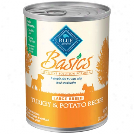 Basics Canned Dog Large