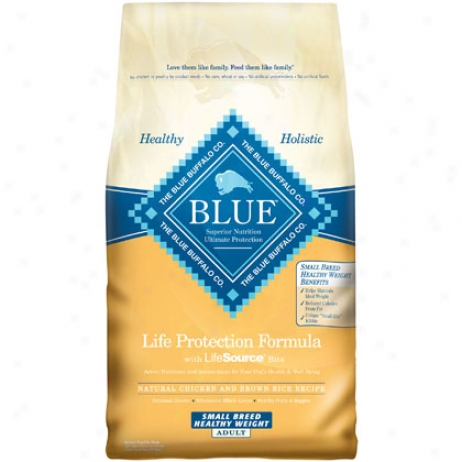 Blue Buffalo Healthy Wieght Small Breed Adult Dog Food