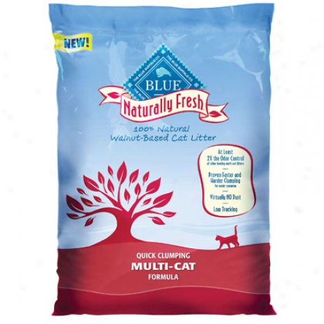 Blue Buffalo Naturally Fresh Multi Cat Clumping Litter