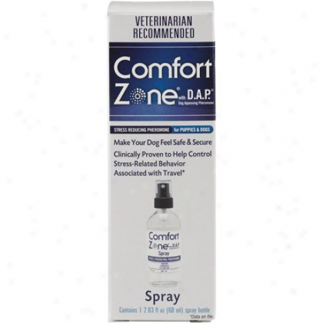 Comfort Zone With D.a.p. For Dogs Spray 60ml