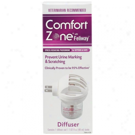 Comfort Zone With Feliwsy For Cats & Kittens Plug In With 48ml Bottle