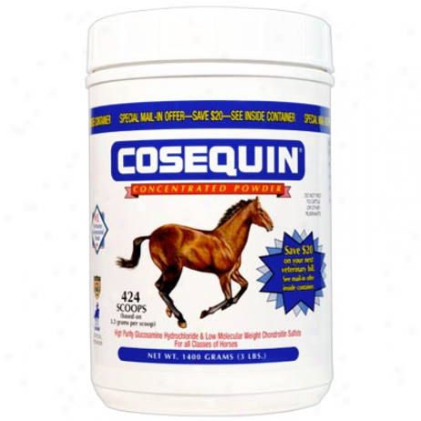 Cosequin Equine Powder Cpncentrate 1400g For Hofses