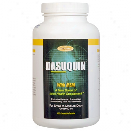Dasuq8in With Msm For Small To Medium Dogs Unfre 60 Lbs. 150ct Bottle