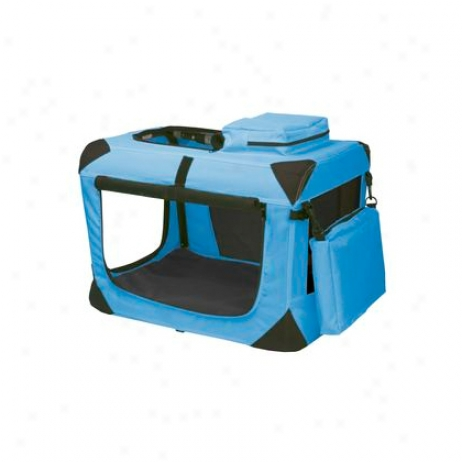 Deluxe Portable Soft Pet Crate
