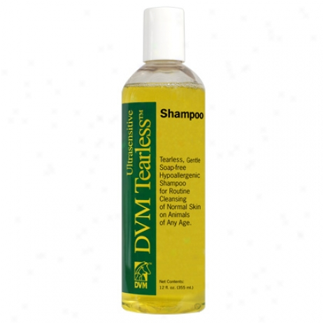 Dvm Ultrasensitive Tearless Shampoo 12oz Btl