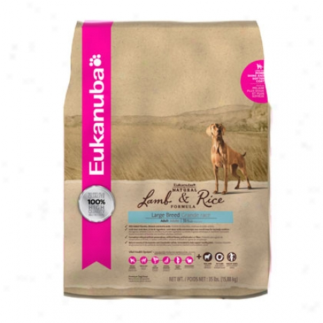 Eukanuba Dry Dog Food Lamb