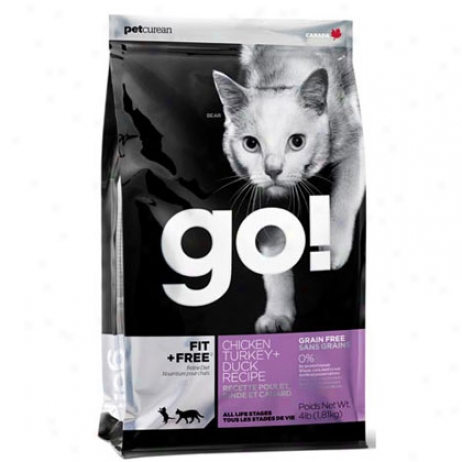 Gp! Fit + Free 4 Lb Dry Cat