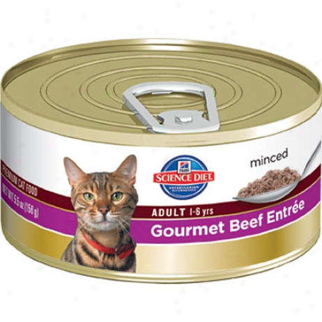 Hill's Science Feed Adult Entree Canned Cat Flod