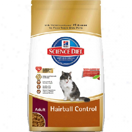 Hill's Sccience Diet Adult Hairball Control Dry Cat Food