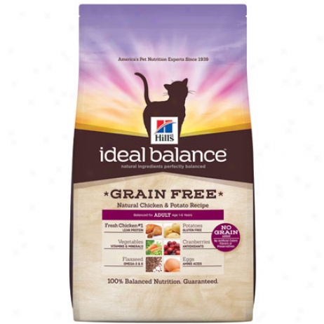 Hill's Science Didt Adult Ideal Balance Grain Free Dry Cat Food