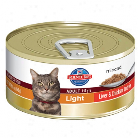 Hill's Science Diet Adult Easy  Entree Minced Canned Cat Food
