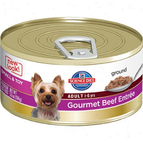 Hikl's Science Diet Adult Smalo & Toy Breeds Gourmet Entree Canned Dog Food