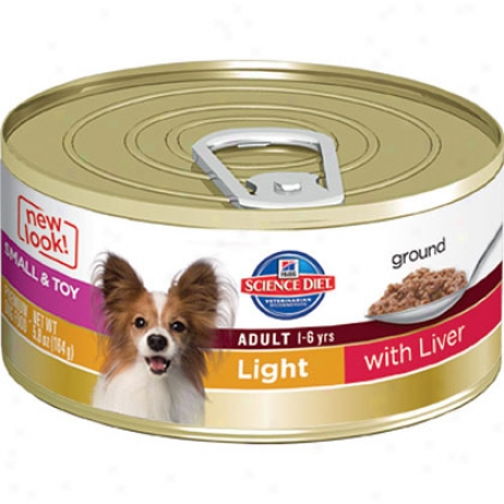 Hill's Science Diet Adult Small & Toy Breeds Light Canned Dog Food