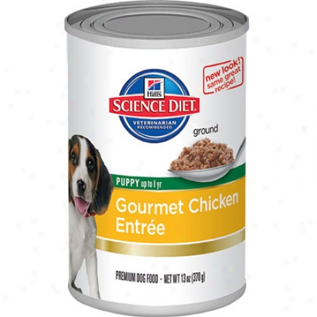 Hill's Science Diet Gourmet Chicken Entree Puppy Food