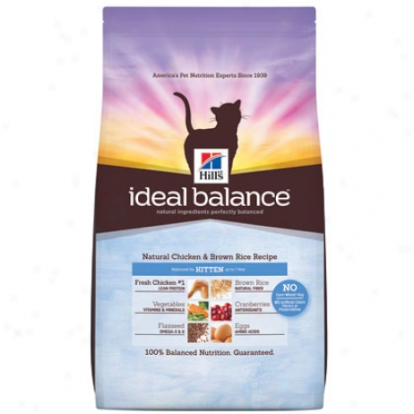 Hill's Science Diet Ideal Balance Dry Kitten Aliment