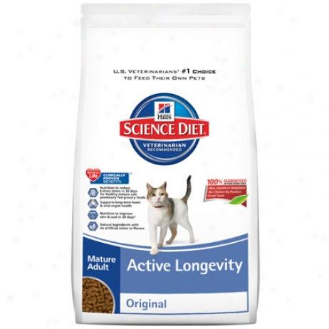 Hill's Science Diet Mature Adult Active Longevity Cat Foox