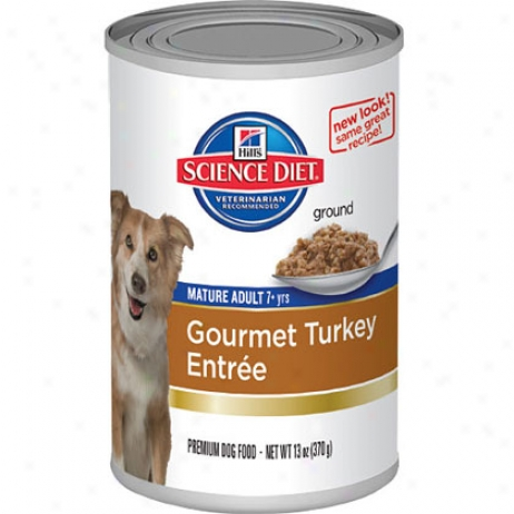 Hill's Science Diet Maturee Adult Gourmet Entree Canned Dog Food