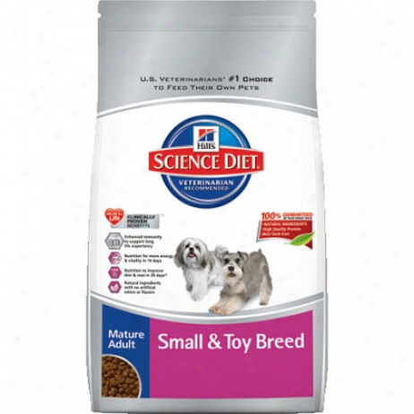 Hill's Science Diet Mature Adult Small And Toy Brsed Dog Food