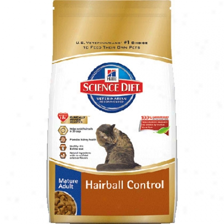 Hill's Science Diet Mature Hairball Control Dry Cat Food
