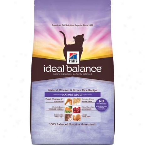 Hill's Science Diet Mature Ideal Balannce Dry Cat Food