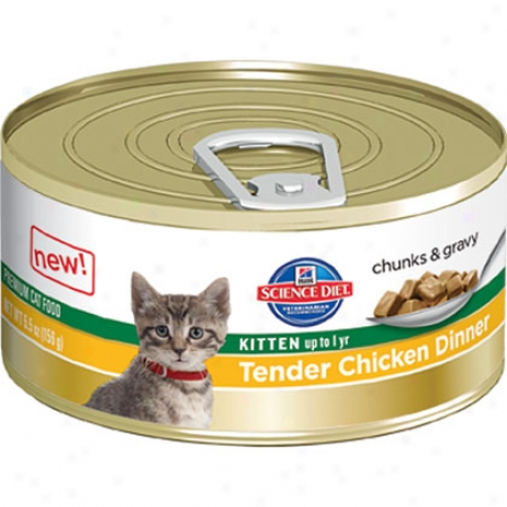 Hill's Science Diet Soft Chicken Dinner Canned Kitten Food