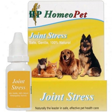 Homeopet Join Stress Relief 15ml Btl