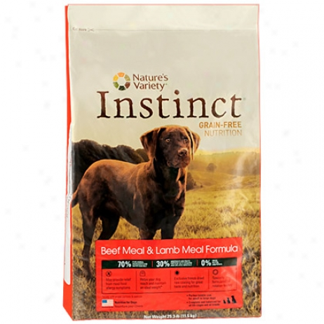 Instinct Beef Dog Diet