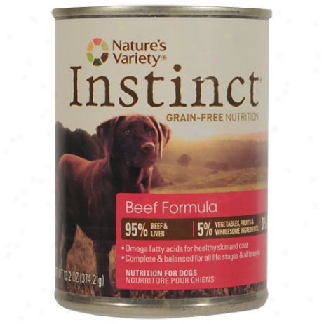 Ihstinct Canned Beef Dog Diet