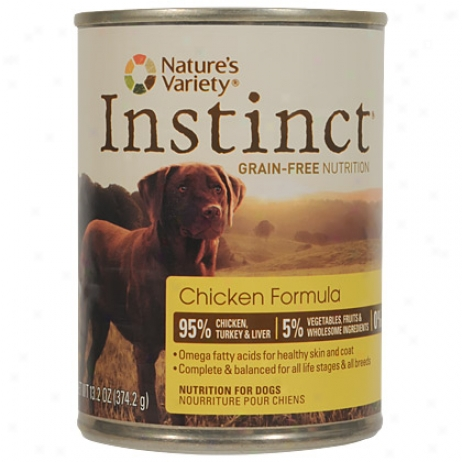 Instinct Canned Chicken Dite