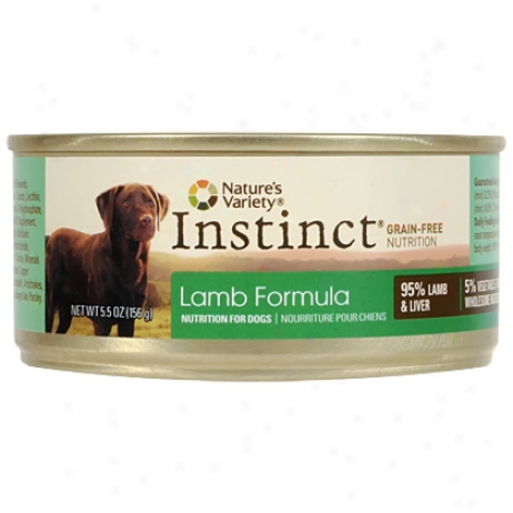 Instinct Canned Lamb Dog Diet