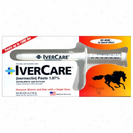 Ivercare Ivermectin 1.87% Paste Sure-grip Single Dose Oral Syrine