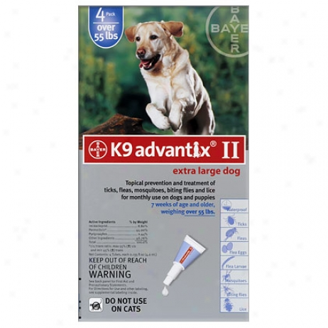 K9 Advantix 4 Pk Blue Dog Over 55 Lbs