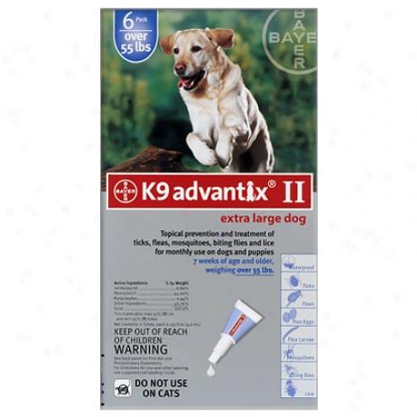 K9 Advantix 6 Pk Blue Dog Over 55 Lbs