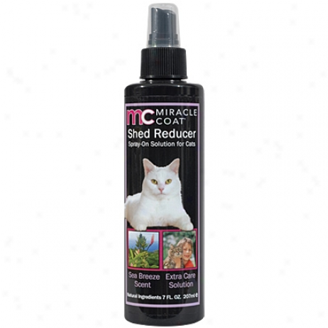 Miracle Layer Spray On Shed Reducer Fr Cats 7oz
