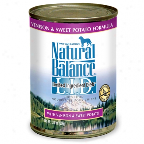 Natural Balance Lid Canned Dog
