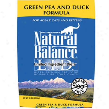 Natural Balance Limited Element Diets Dry Cat Food