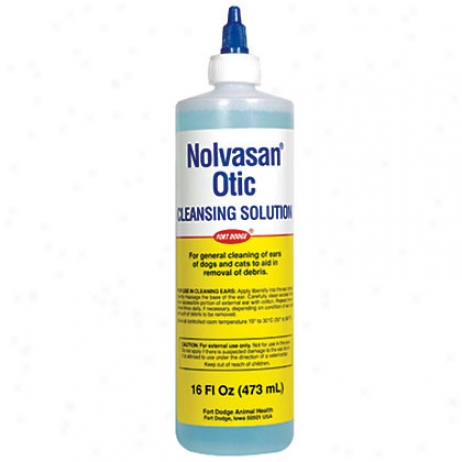 Nolvasan Otic Cleansing Solution 16oz Btl
