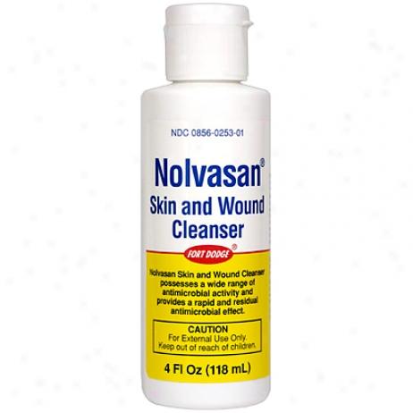 Nolvasan Skin & Wound Cleeanser 4oz Bortle