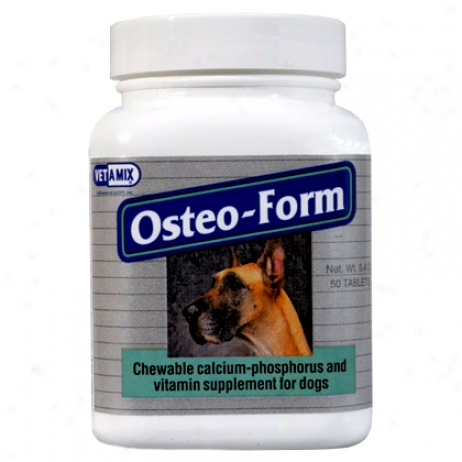 Osteoform Calcium Phosphorus Supplement 50ct Btl