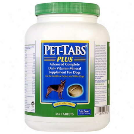 Pet-tabs Plus 365ct Bottle