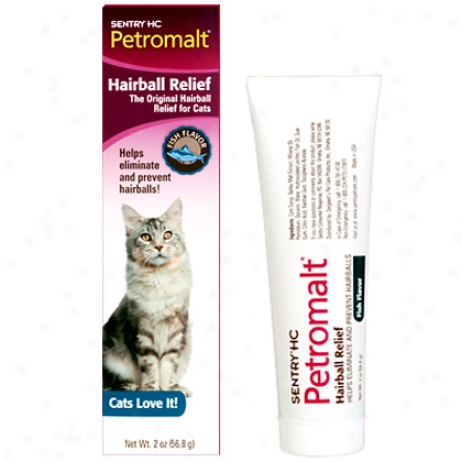 Petromalt Hairball Remedy Fish Flavor Tube 56.8gm